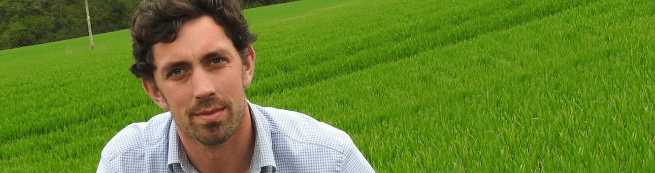 AGRONOMIST AIMS TO ADD VALUE THROUGH  WHOLE-FARM APPROACH