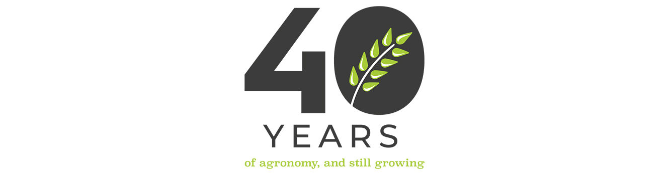 40 years of agronomy